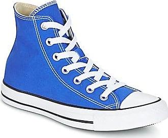Zapatillas Deportivas de Mujer, Deportivas Baratos en Rebajas, Limited Edition, Azul Marina Ahumado, Lona, 2017, 36 Converse