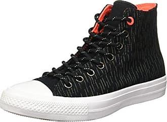 Converse Damen CTAS Hi Black Unisex High Top  42 EUSchwarz (Black)