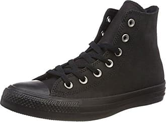 Converse Chuck Taylor Ctas Hi Leather, Scarpe da Fitness Unisex-Bambini, Nero (Black/Black/Black 001), 36 EU