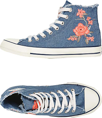 CTAS HI DENIM FRAYED FLOWER - FOOTWEAR - High-tops & sneakers Converse