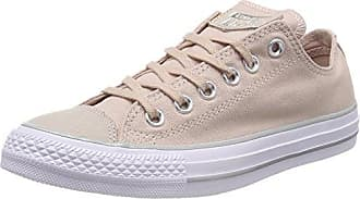 Converse Chuck Taylor CTAS Ox Canvas, Zapatillas de Deporte para Mujer, Beige (Particle Beige/Silver/White 264), 37 EU
