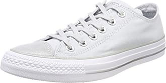 Converse Chuck Taylor CTAS Ox Textile, Zapatillas de Deporte para Mujer, Azul (Light Carbon/White/Natural 534), 39/40 EU