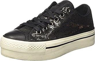 Converse Chuck Taylor CTAS High Street Hi, Sneakers Basses Mixte Adulte, Noir (Black/Black/Black 001), 41 EU