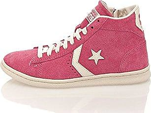 Converse Hightop Sneaker Pro Leather LP Mid Suede Rot EU 44