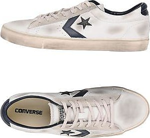 Converse All Star Ctas Ox Clean Lift Denim Frayed Sneakers & Tennis Basses Femme.