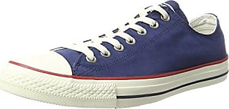 Converse Ctas Ox Midnight Garnet/Egret Sneaker Unisex Adulto Blu Navy h6O
