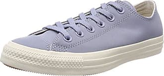 Unisex Kids Chuck Taylor CTAS Ox Leather Fitness Shoes, Grey (Glacier Grey/Driftwood 552), 3.5 UK 4 UK Converse