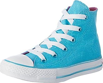 Converse CTAS Zip Star OX, Zapatillas Unisex Niños, Multicolor (Blue Tint/Nectarine/White 454), 35.5 EU