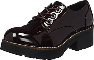 Marc O'Polo Lace Up Shoe 70814263401112, Zapatos de Cordones Brogue para Mujer, Rot (Bordo), 38 2/3 EU