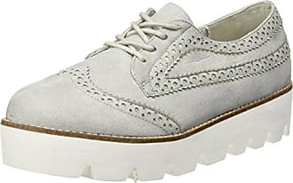 GoldmudKolpino Lady - Zapatos Derby Mujer, Color Gris (Combi Lamb), Talla 37