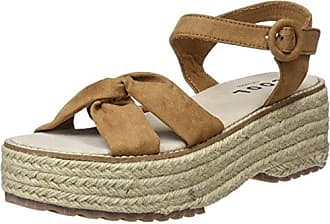 Ten Points Ella, Sandalias con Plataforma para Mujer, Marrn (Cognac 319), 38 EU Ten Points