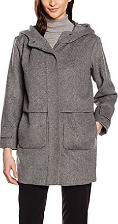3.T.M.Trench Fake Suede, Parka Femme, Greys, LargeCortefiel