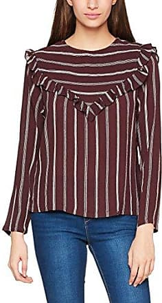 Striped Top w. Bottom Stripe, T-Shirt Femme, Blanc (White 200), 40 (Manufacturer Size:38)Coster Copenhagen