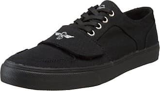Cesario Lo Xvi, Chaussons Sneaker Homme - Noir (Black/Black), 45.5 EU (11 UK)Creative Recreation