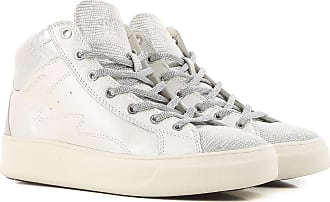 Sneakers for Women On Sale, Pearl Grey, Leather, 2017, 3.5 4.5 5.5 7.5 8.5 Crime London