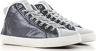 Sneakers for Women On Sale, Silver, Leather, 2017, 3.5 5.5 Crime London