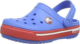 crocs Crocband Galactic Clog Boys, Jungen Clogs, Blau (Cerulean Blue 4O5), 22/24 EU