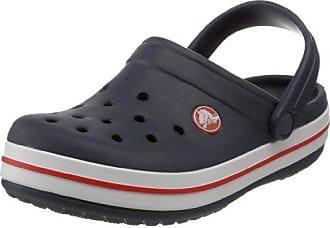 Crocs »Crocband Clog« Clog, mit kontrastfarbenen Akzenten, blau, navy-rot