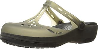 Freesail Plush Lined Clog, Sabots Femme - Noir (Black/Black), 34/35 EU (W5)Crocs
