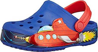 Crocs CC Mcqeen and Francesco, Sabots Mixte enfant, Rouge (Flame Yellow), 24-26 EU (C8C9 US)