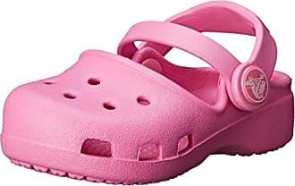 CrocsLights Frozen Fever Clog Kids, Niñas Zueco, Violeta (Blue Violet), 34-35 EU