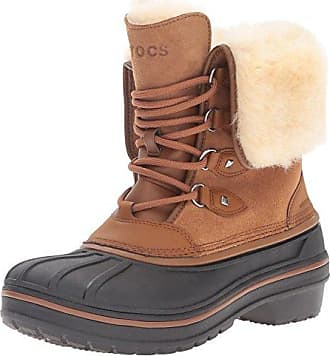 AllCast2BootM, Sneaker a Collo Alto Uomo, Beige (Wheat/Black), 41-42 EU Crocs