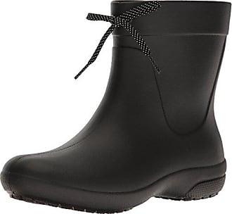 crocs Freesail Shorty Rain Boots, Damen Gummistiefel, Schwarz (Black), 33/34 EU