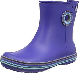crocs Jaunt Shorty Boot Women, Damen Gummistiefel, Gelb (Lemon), 36/37 EU