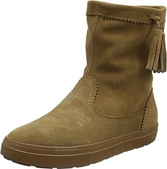 AllCast Luxe Duck Boot, Mujer Bota, Marrón (Hazelnut/Stucco), 36-37 EU Crocs