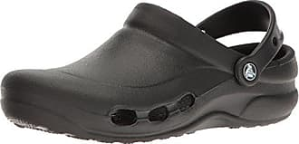 crocs Bistro Swedish Chef Clog, Unisex - Erwachsene, Schwarz (Black/Light Blue), 45/46 EU