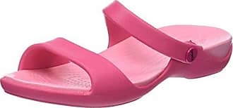 Marques Chaussure femme Crocs femme Cleo V Paradise pink