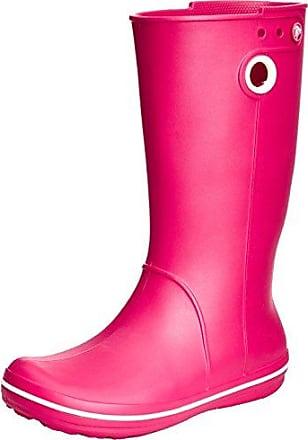 Wellie Rain Boot, Mujer Bota, Rojo (Cranberry/Mulberry), 41-42 EU Crocs
