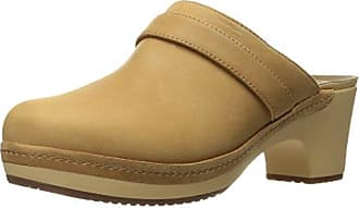 crocs Sarah Lined Clog, Damen Clogs, Braun (Hazelnut 28G), 41/42 EU (8 Damen UK)