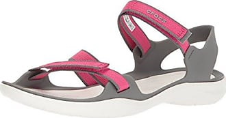 Crocs Swiftwater Sandal W Paradise Pink/white, Schuhe, Sandalen & Hausschuhe, Sandalen, Pink, Female, 36