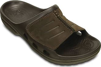 Crocs Yukon Mesa Slide Mens Sandals Espresso/Espresso UK 10