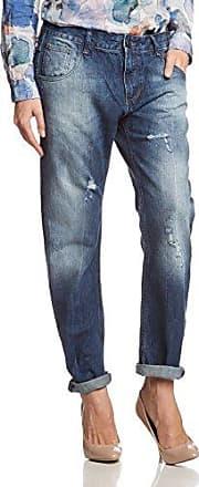 Cross Jeanswear N 473-010 - Vaqueros para mujer, color blau (blue used destroyed 010), talla W27/L32 (27)