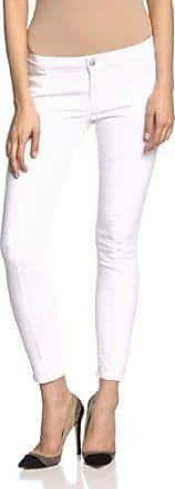 Adriana - Jeans - Super Skinny - Femme - Blanc - 42 (Taille fabricant: W29L32)Cross Jeanswear