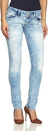 Jeans Skinny - Femme - Bleu (moonwash biker) - W28/L32Cross Jeanswear