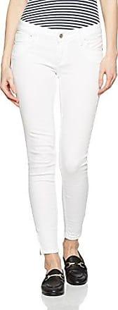 Cross Gigi, Vaqueros Skinny para Mujer, Blanco (White Destroyed 009), W31