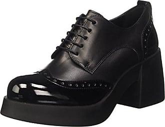 Cult Ozzy Cle101623, Zapatos de Cordones Oxford para Hombre, Negro (Black), 42 EU
