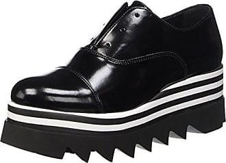 JB Martin Falba, Zapatos de Cordones Oxford para Mujer, Negro (Veau Vernis Light Noir Noir), 36 EU JB Martin