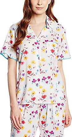 Womens Loved up Folk Pyjama Top Cyberjammies