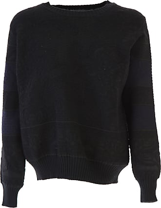 Sweater for Women Jumper On Sale, Grey, Extrafine Wool, 2017, 10 12 14 D.exterior