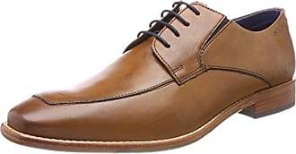 Riderss, Zapatos de Cordones Derby para Hombre, Marrón (Teck 205), 42 EU TBS