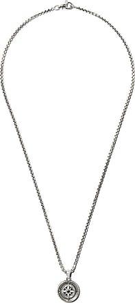 David Yurman Maritime Compass black diamond amulet - Metallic