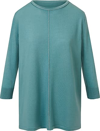 DAY.LIKE Jumper boat neckline turquoise