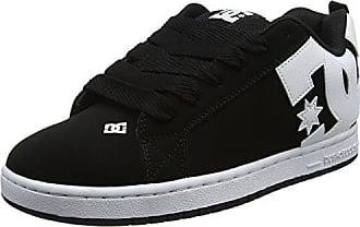 Heathrow Vulc, Sneaker Uomo, Schwarz (Black/White BKW), 42.5 EU DC