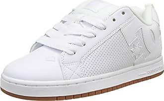 DC Shoes Trase TX, Baskets Basses Homme, Blanc (Pristine/Angora), 38 EU