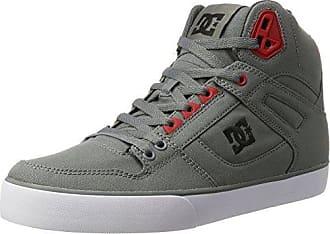 DC Shoes Spartan High WC, Zapatillas para Hombre, Multicolor (Black/Red/Black - Combo), 40 EU