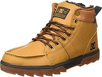 DC Shoes Woodland Botas Clasicas Hombre, Marrón (Wheat), 28.5 EU (10.5 UK)